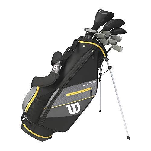 WILSON Herren Ultra XD 2020 Golfschläger Set Mit Stand Tasche Golf Komplettset Eisen Hölzer Driver...