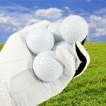Golfbälle für Anfänger nach dem Kauf eines Golfset