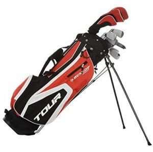 Dunlop TP13 Herren Golfset Graphit-Stahl 16-tlg
